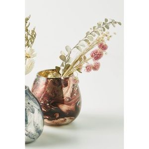 NEW ANTHROPOLOGIE Red Halle Bud Vase